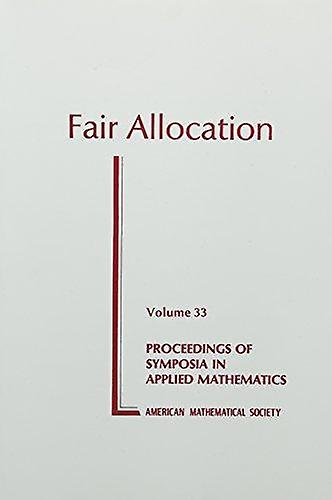 Fair Allocation by Peyton H. Young - 9780821800942 Book