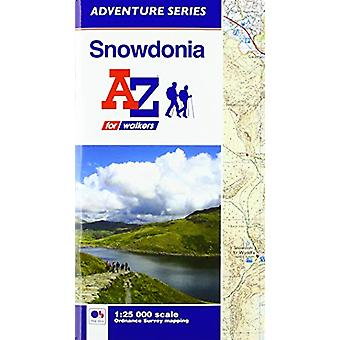 Snowdonia Adventure Atlas by  - 9781782572176 Book