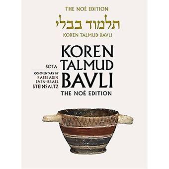 Koren Talmud Bavli - Sota - English - v. 20 (Noy ed) by Adin Steinsaltz