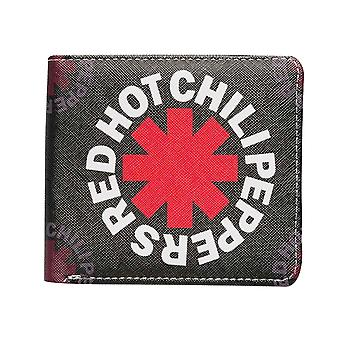 Red Hot Chili Peppers Wallet Asterisk Band Logo new Official Black Bifold