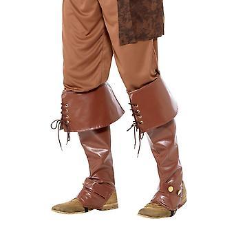 Diuxe Pirate Bootcovers, Pirata Fancy Dress, Una taglia