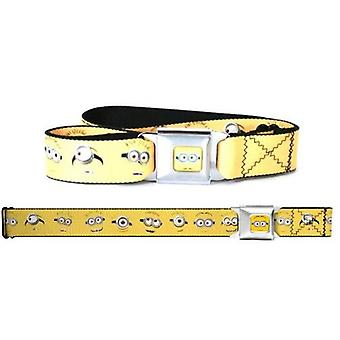 Seatbelt Belt - Despicable Me - Minions Adj 24-38