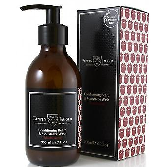 Santal Wood Beard and Mustache Shampoo - Cleans and Softens