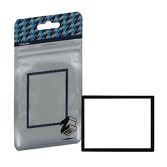 Replacement screen lens plastic cover for nintendo ds lite [ndsl] - black