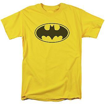 Batman logo gele mannen ' s T-shirt
