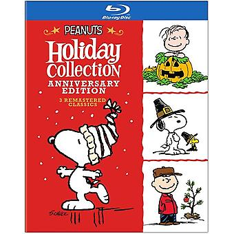 Peanuts Holiday Anniversary Collection [Blu-ray] USA import
