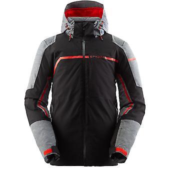 Spyder TITAN Herren Gore-Tex Primaloft Ski Jacke - schwarz
