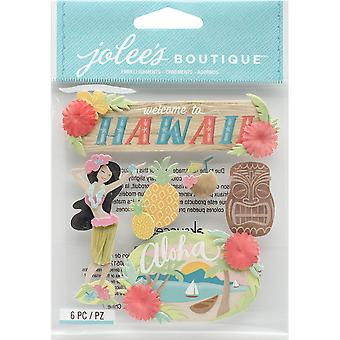 Jolee's Boutique Dimensional Stickers-Hawaii E5021926