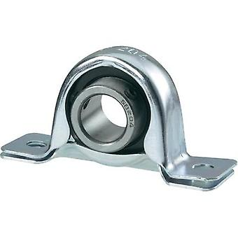 Plummer block UBC Bearing Steel plate SBPP 206 Bore diameter 30 mm Hole spacing 95 mm