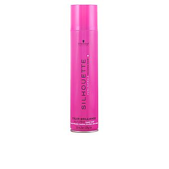 SILHOUETTE color brillance hairspray super hold