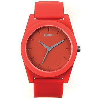 Warm Red Lexon printemps montre XL