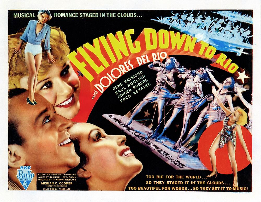 the dark lady in the film flying down to rio by thornton freeland