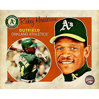 Rickey Henderson 2012 Studio Plus Photo Print