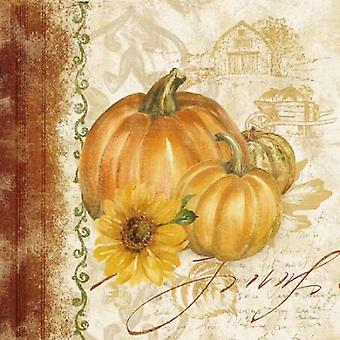 Harvest Time I Poster Print by Pamela Gladding