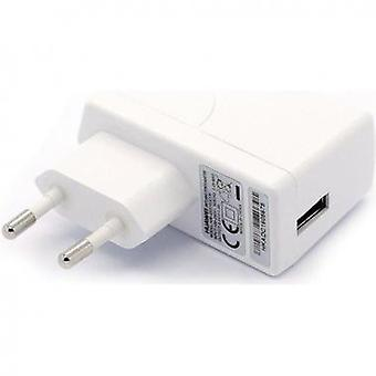 Huawei HW-050100E1W power adapter on the USB travel charger white