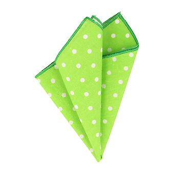 Snobbop handkerchief green with white dots handkerchief Cavalier cloth