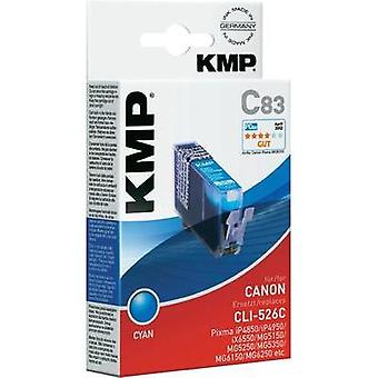 KMP Ink replaced Canon CLI-526 Compatible Cyan C83 1515,0003