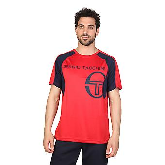 Tacchini Men T-shirts Red