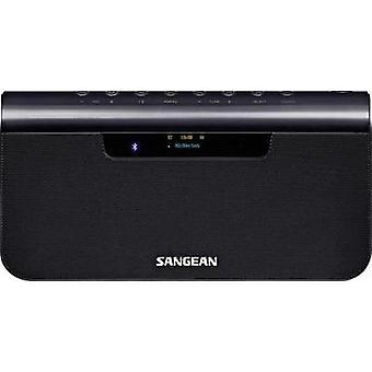DAB+ Portable radio Sangean TunPad AUX, Bluetooth, DAB+, NFC, FM Battery charger, rechargeable Blue (metallic)