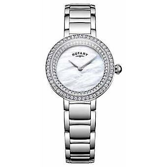Rotary Womans Stone Set Cocktail LB05085/41L Watch