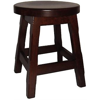 Balmeno Wooden Low Bar Stool Finish Set Of 2 Fully Assembled