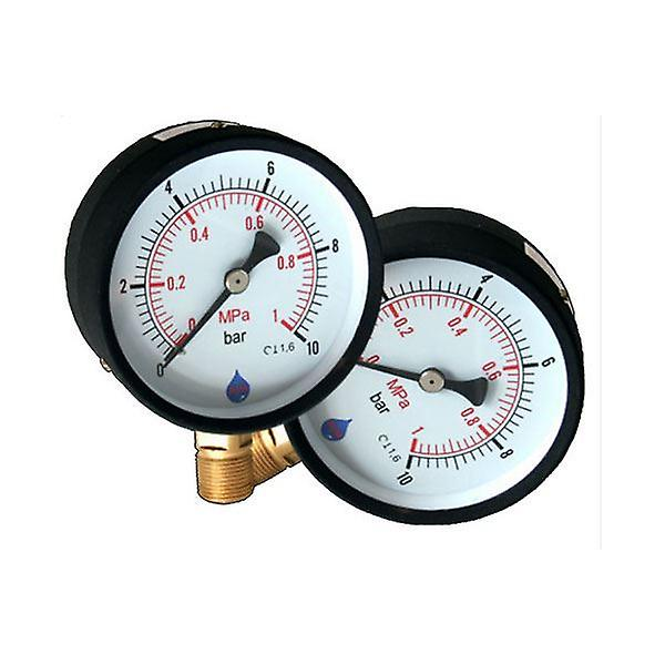 63mm Pressure Gauge 1/4inch Bsp Manometer