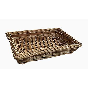 Small Chipwood Wicker Tray