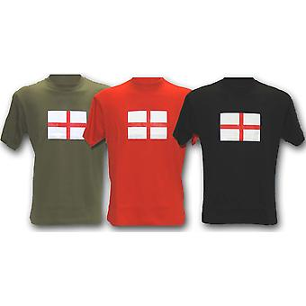 New St George Flag Printed World Cup T-Shirt