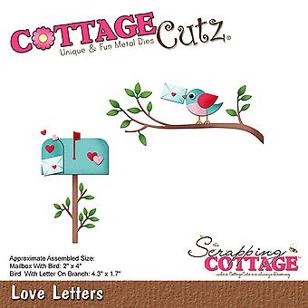 CottageCutz Die-Love Letters, 1.7