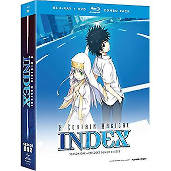 Certain Magical Index: Complete Season 1 [BLU-RAY] USA import