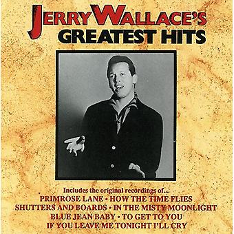 Jerry Wallace - importazione USA Greatest Hits [CD]