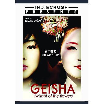 Geisha: Tusmørke af blomster [DVD] USA importen