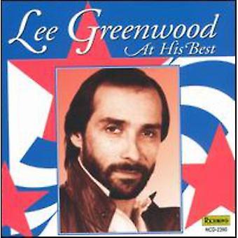 Lee Greenwood - på hans bedste [CD] USA import