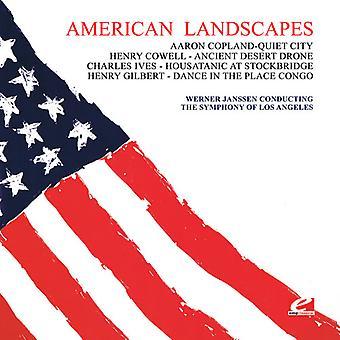 Janssen/symfoni av Los Angeles - fyra amerikanska landskap [CD] USA import