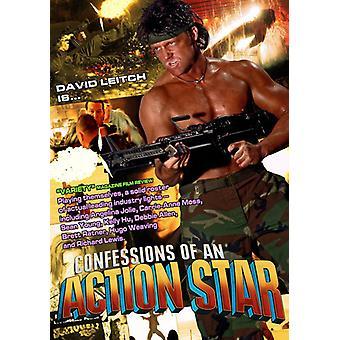 Confessions af en actionstjernen [DVD] USA importerer