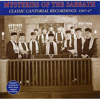 Mysteriet om sabbatten - klassiske Cantorial optagelser [CD] USA import