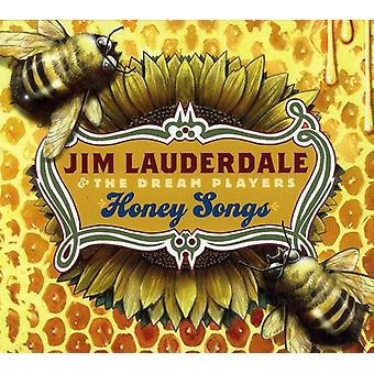 Jim Lauderdale & the Dream Players - Honey Songs [CD] USA import