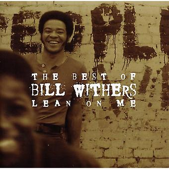 Bill Withers - Lean på mig-bästa av Bill Wither [CD] USA import
