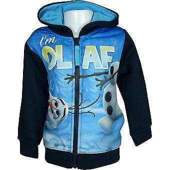 Boys Disney Frozen Olaf Full Zip Hooded SweatshirtHoodie PH1358