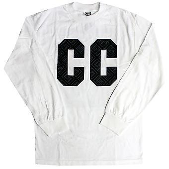 Crooks & Castles Blockade L/S Crew T-shirt White