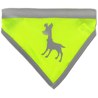 Alcott Visibility scarf Green Essentials (Hunde , Kleidung , Accessoires )