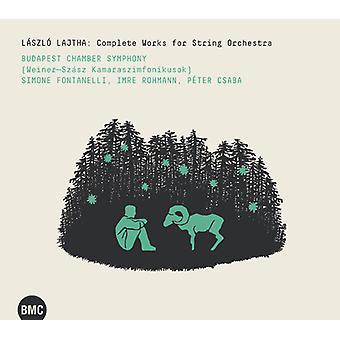 Budapest Chamber Symphony - Budapest Chamber Symphony: Værker for strygeorkester [CD] USA import
