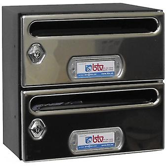 BTV Buzon Mercury Stainless Steel G2 (DIY , Hardware , Home hardware , Mailboxes)