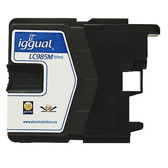 Iggual Lc985M Brother Magenta Cartridge Recycling (Home , Electronics , Printing , Ink)