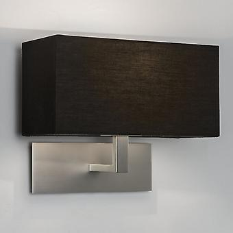 Astro Park Lane Wall Light MN With Black Shade