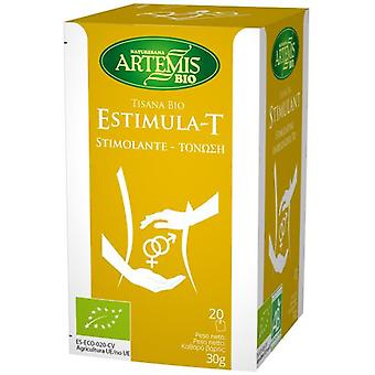 Herbes del Molí Eco-T Infusion stimulates 20 Filters (Herboristerie , Infusions)