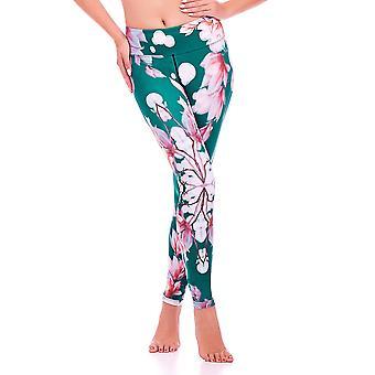 Attivo mio fiore orientale Yoga pantaloni MS16S11L