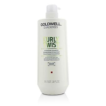 Goldwell Dual sanser Curly Twist Hydrating Shampoo (elasticitet For krøllet hår) - 1000ml/33.8 oz