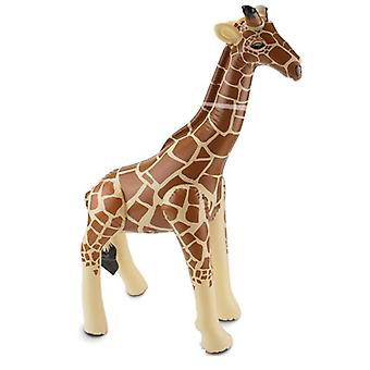 Inflatable giraffe Aufblastier jungle inflatable giraffe 74 x 65 cm