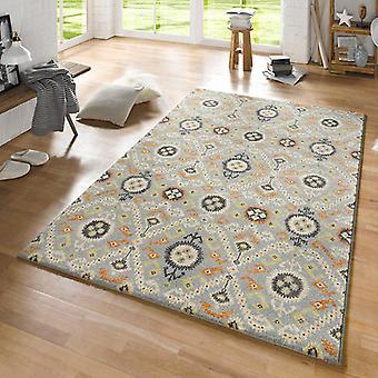 Design carpet Odyssey Blau cream Orange | 102430